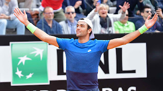 Berrettini upsets Zverev in Rome