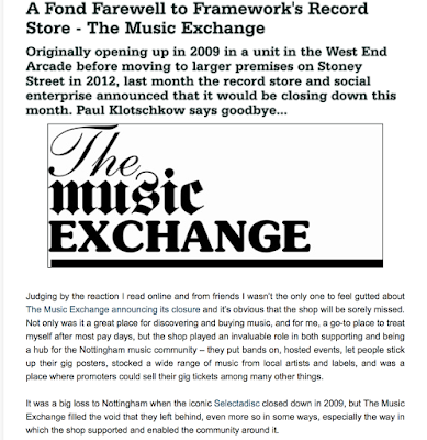 Goodbye To The Music Exchange