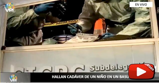 Cadáver de niño de 10 años encontrado apuñaleado en un basurero de Guasipati