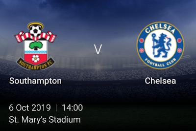 LIVE MATCH: Southampton Vs Chelsea Premier League 06/10/2019