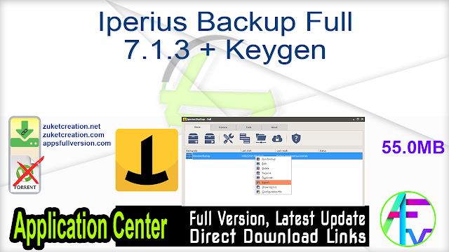 Iperius Backup Full 7.1.3 + Keygen