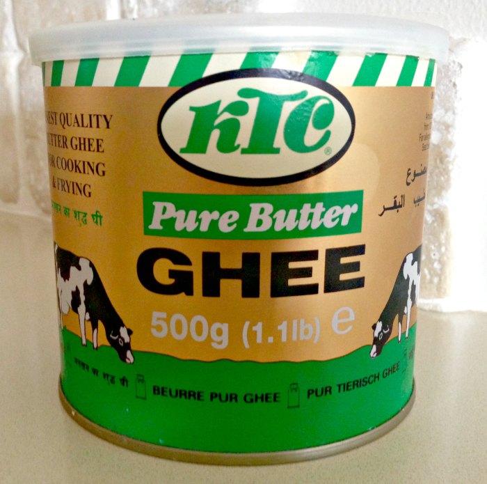 חמאת גהי Ghee (סמנה) – חמאה מזוקקת