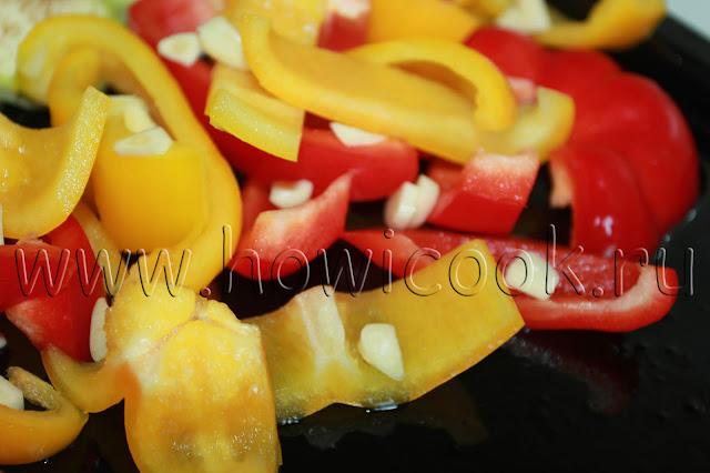 рецепт антипасти в духовке с пошаговыми фото