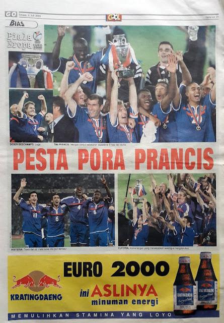 FRANCE EURO 2000 WINNER
