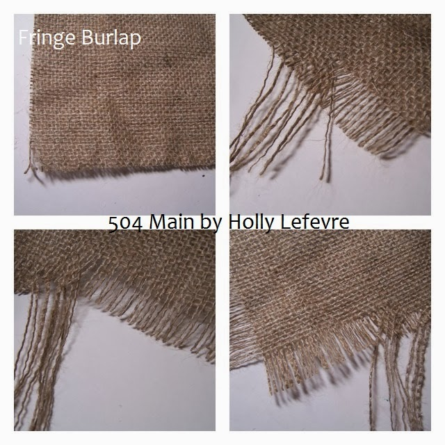 Burlap Table Runner by 504 Main #turkeytablescapes