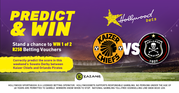 Stand a chance to win 1 of 2 R250 betting vouchers