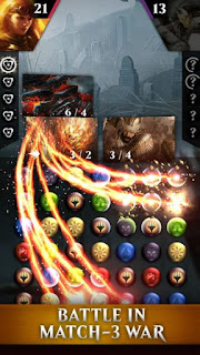 Magic: Puzzle Quest Apk v1.8.1 Mod (God Mode/Massive Dmg/Enemy Monster 0 Stats)