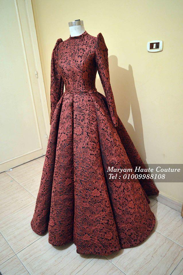 450976f049729 فستان منفوش مميز جدا ...من تفصيل اتيلية مريم بالاسكندرية
