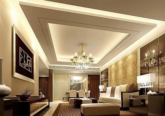 Cool Modern False Ceiling Designs for Living room 2018