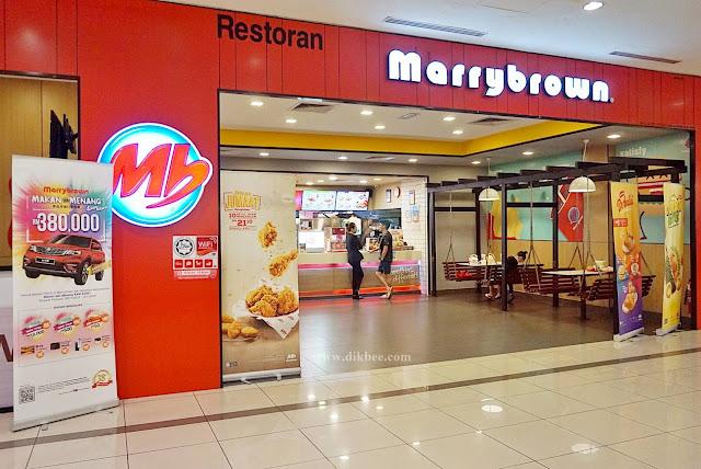 Peraduan Makan Dan Menang KAW KAW Di Marrybrown