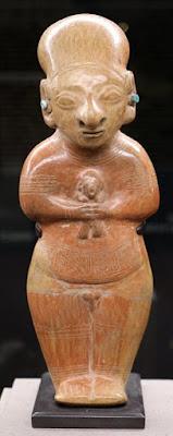 Raffigurazione di un antenato del Guangala, usata nei rituali di sepoltura.