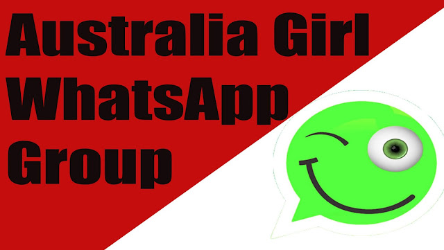 Australia Girl WhatsApp Group, Australia Girl WhatsApp Group Links
