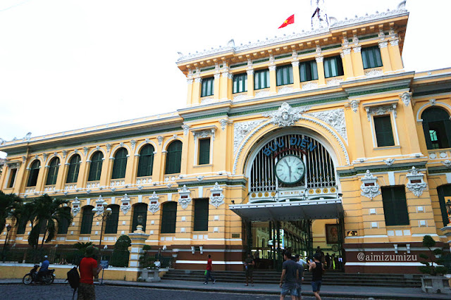 Buu Dien Saigon post office center