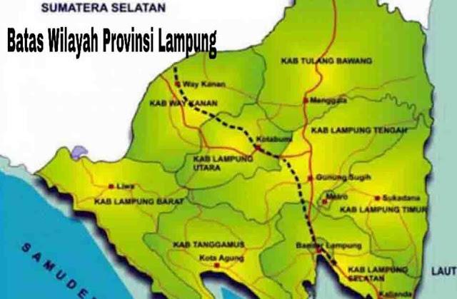 Batas Wilayah Lampung
