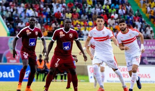 الزمالك يخسر بثنائية أمام جينراسيون السنغالي في دوري أبطال إفريقيا