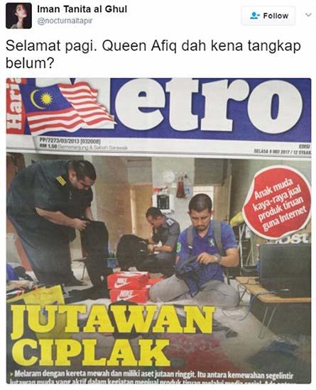 Biodata King Afiq, Jutawan Muda Yang Ditahan KPDNKK Jual Produk Ciplak