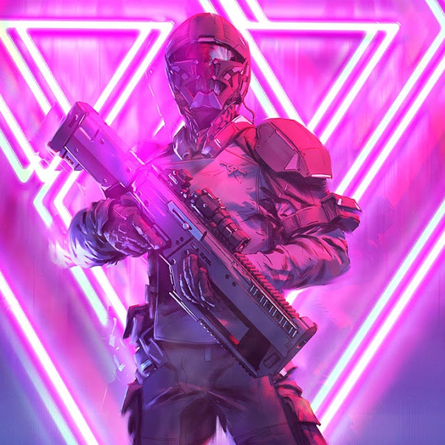 Neon Soldier Wallpaper Engine