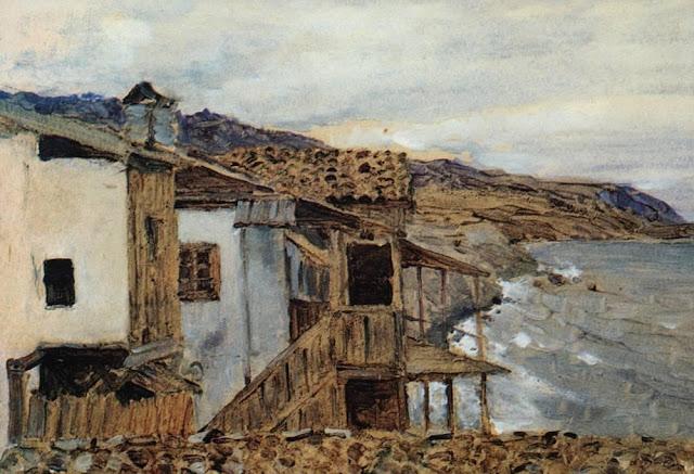 Исаак Ильич Левитан - Вид на море. 1886