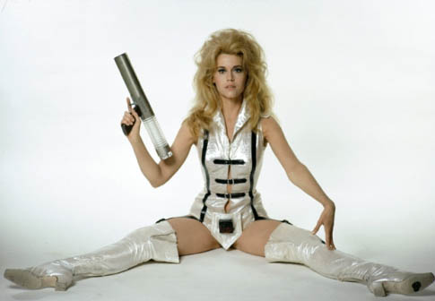 jane fonda as barbarella costume