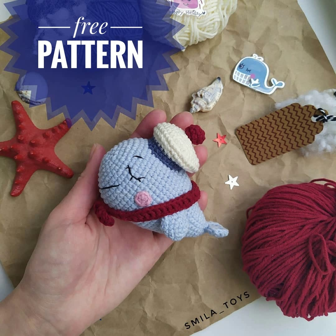 CROCHET PATTERN - NAUTICAL Crib Mobile / Lighthouse / Whale ... | 1080x1080