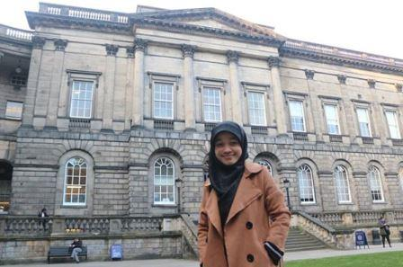 Birrul Qodriyyah-Peraih Bidikmisi Award 2013, Kini S2 di Edinburgh University UK