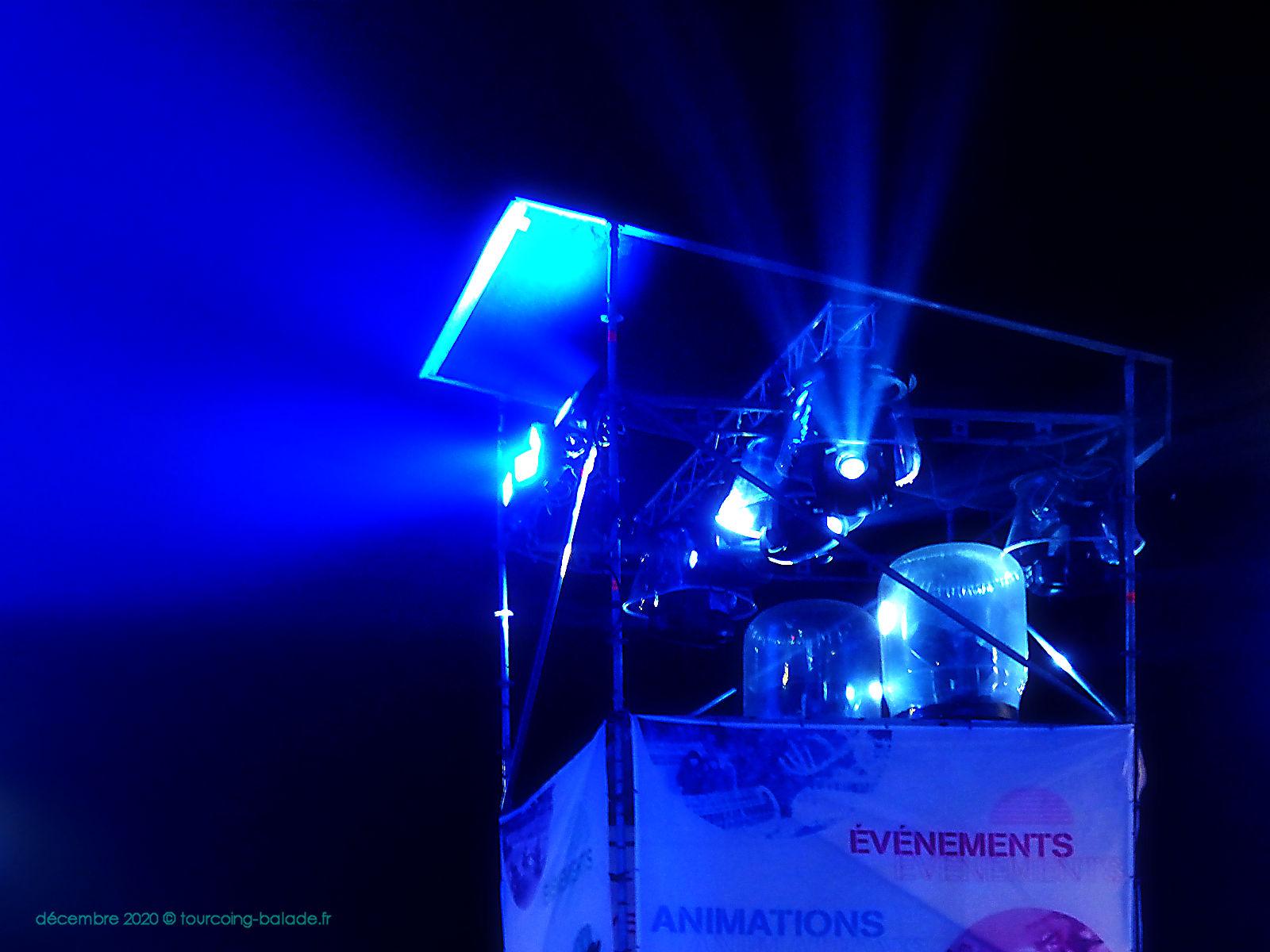 Projecteur d'illuminations, Tourcoing 2020