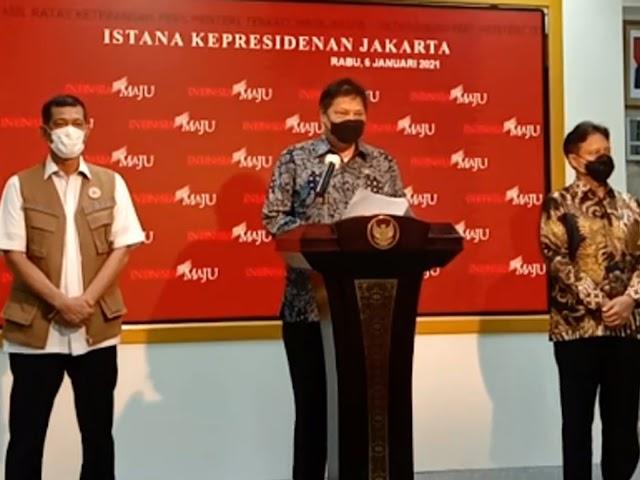 Ini Aturan Kebijakan Penerapan Kembali PSBB Jawa dan Bali 11 - 25 Januari 2021