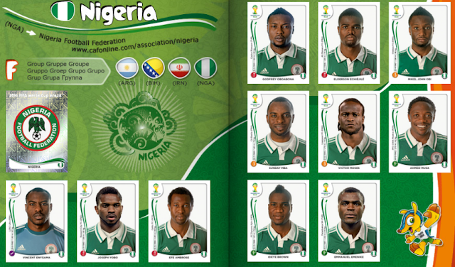 Nigéria na Copa do Mundo 2014