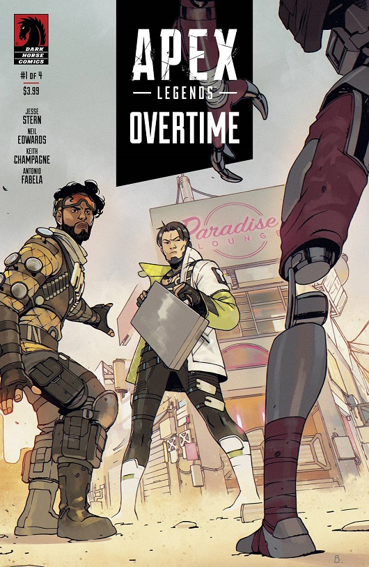 Cover of Apex Legends Overtime #1
