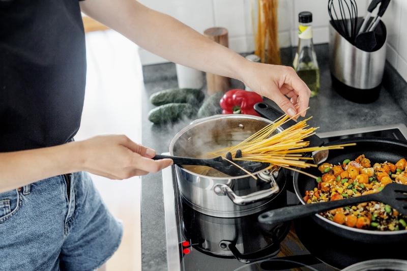 Praticidade na cozinha