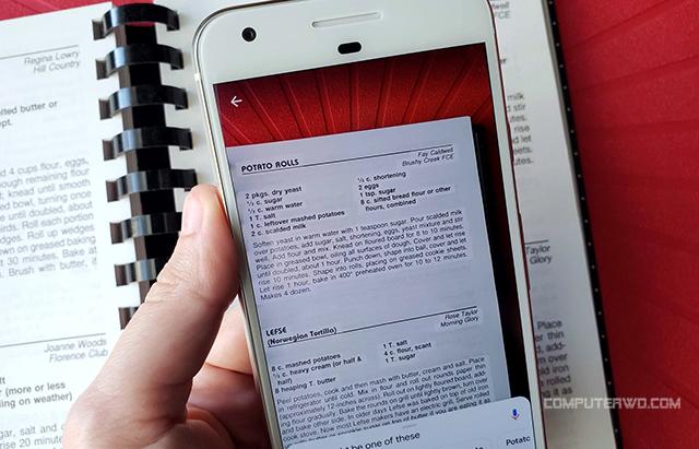 كيفية نسخ النص من أي وثيقة للكمبيوتر عن طريق تطبيق Lens عالم الكمبيوتر Computer-WD Cover