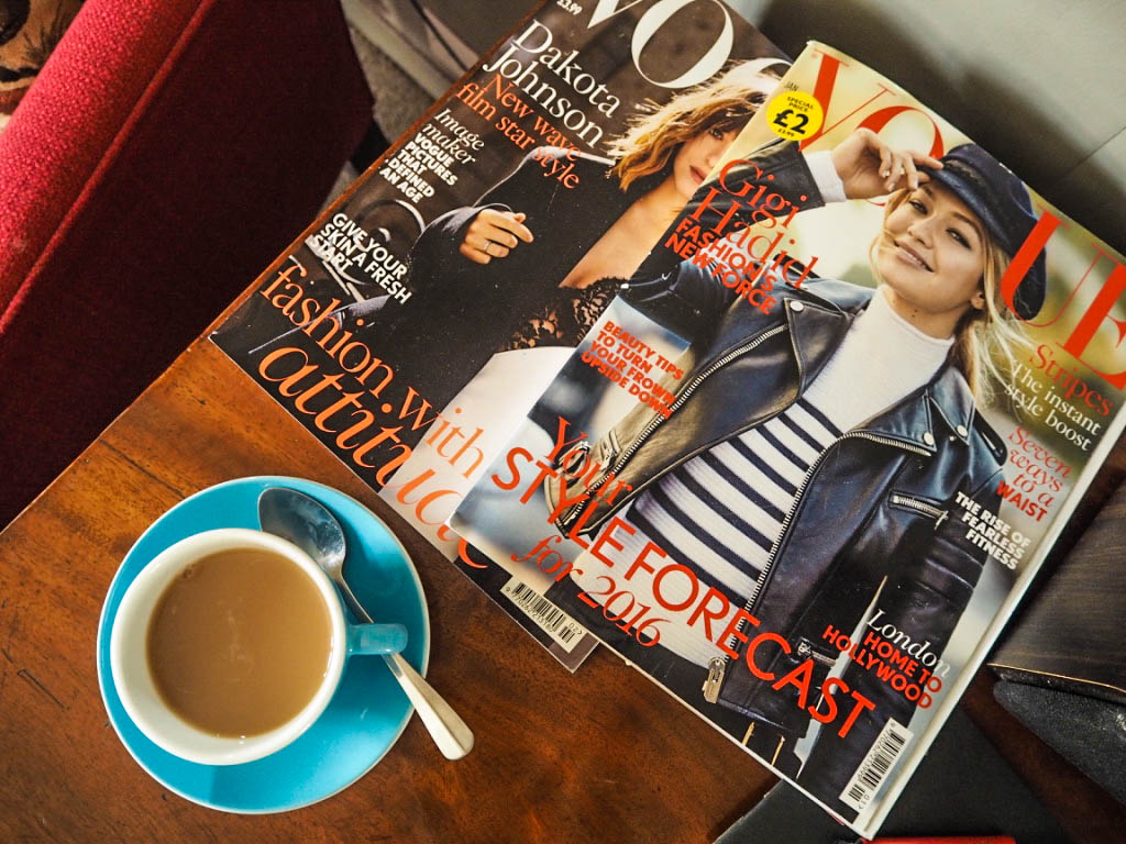 vogue magazine cup of tea