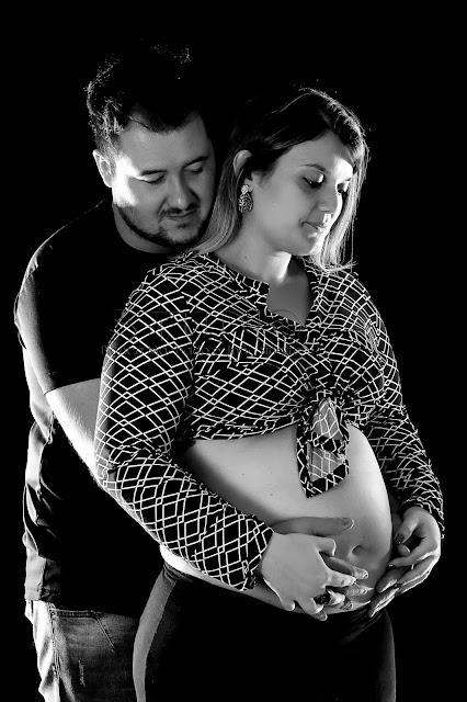 fotos emocionantes da gravidez