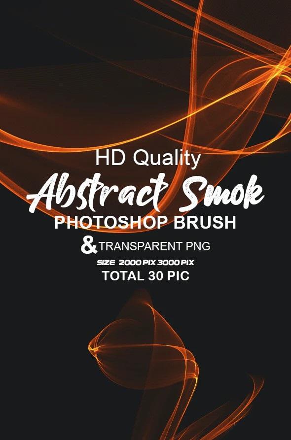 Graphicriver Abstract Smoke Brush and PNG 28132572