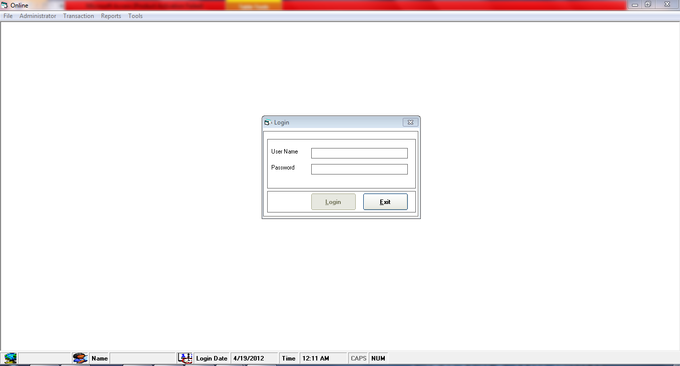 Banking Management System Project in Visual Basic with