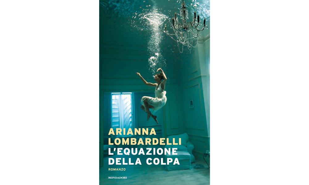 """Arianna Lombardelli, copertina di """"L'equazione della colpa"""""""