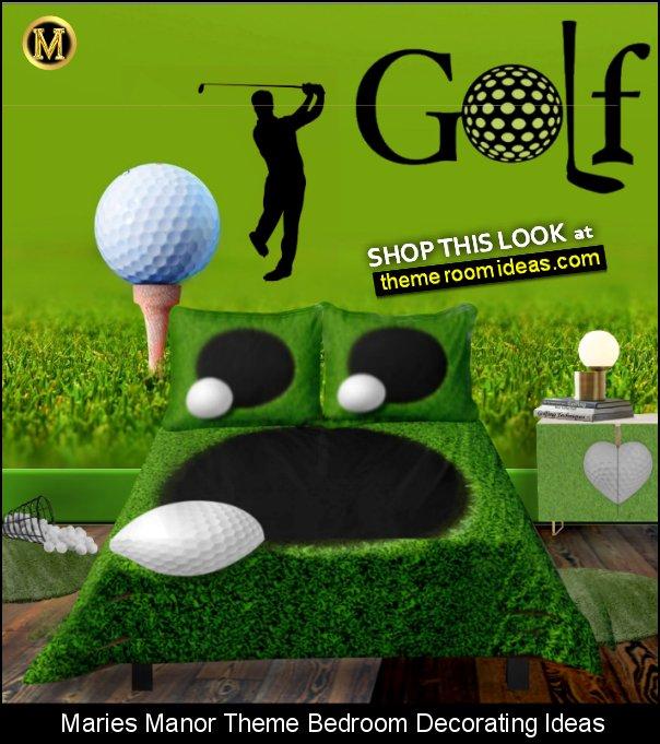 golf bedding   gof wall mural   golf wall decal golf bedroom furniture