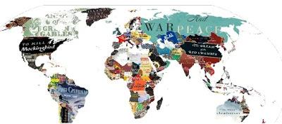 Mapamundi Literario : Un viaje por las obras representativas de cada país.