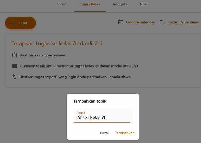 Cara Mudah Membuat Absensi Siswa Daring Di Google Classroom Dan Google Formulir Lutfin Com