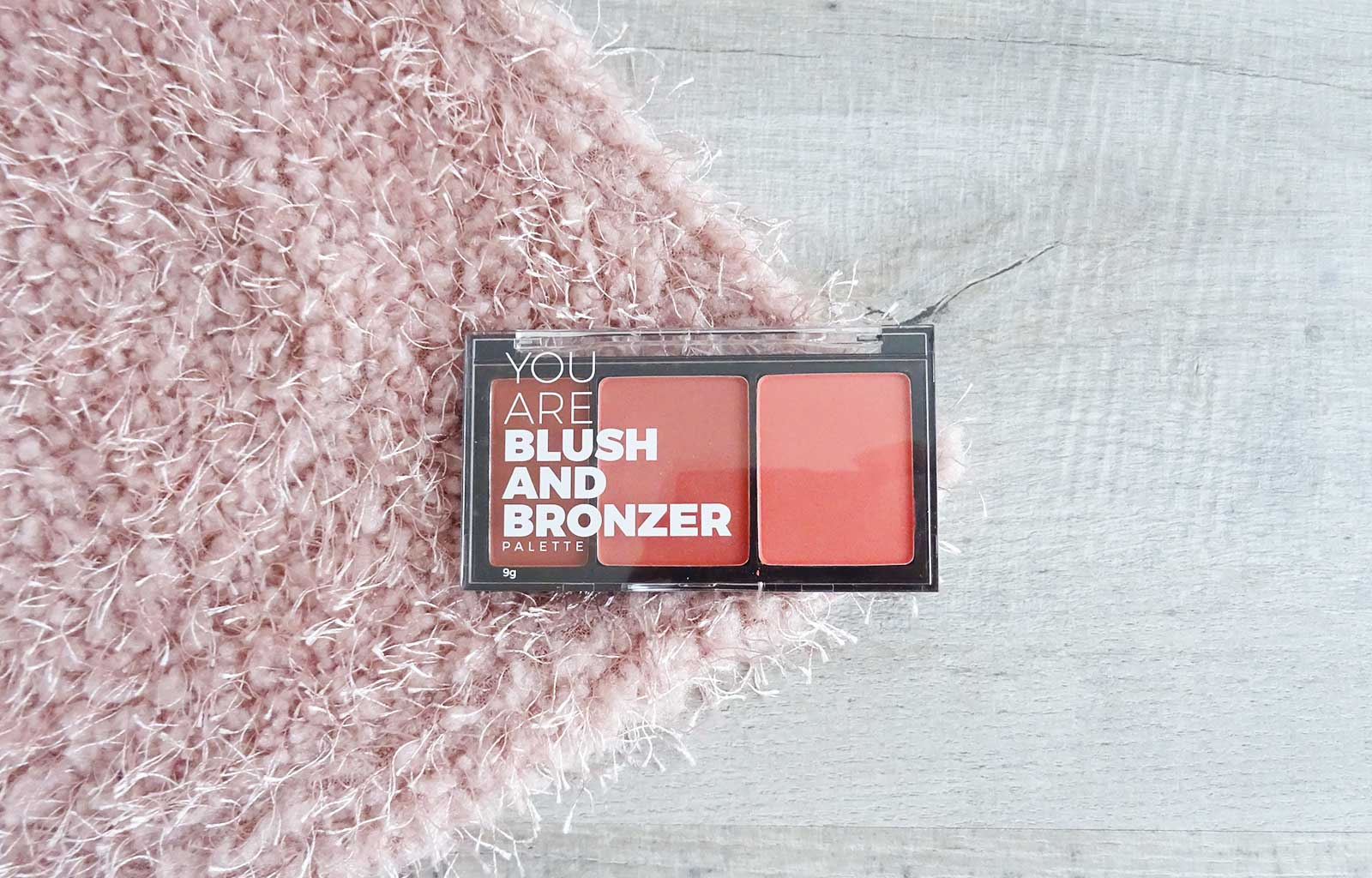 Palette You are blush and bronzer