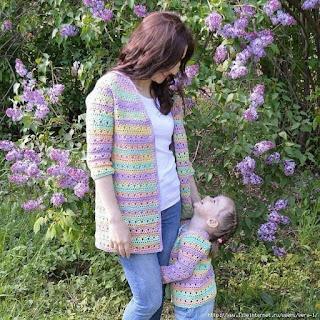 Modelinhos Mãe e Filha