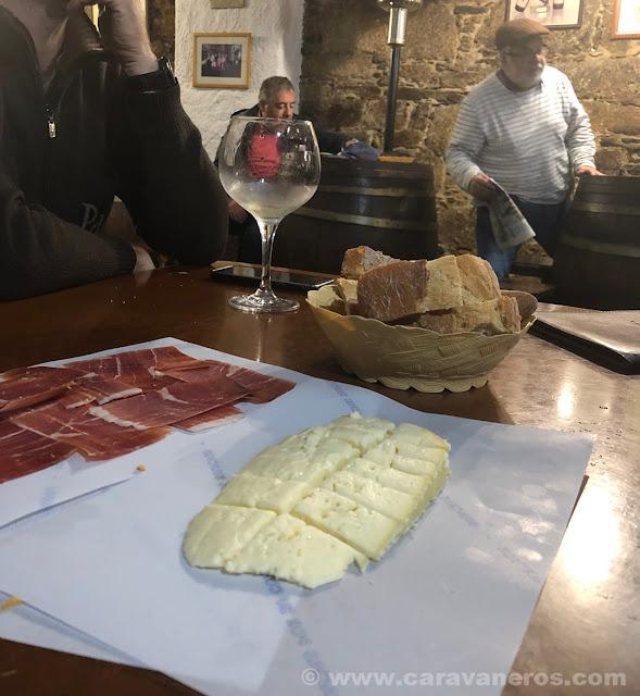Bar Abrigadoiro. Santiago de Compostela | Camino de Santiago en autocaravana
