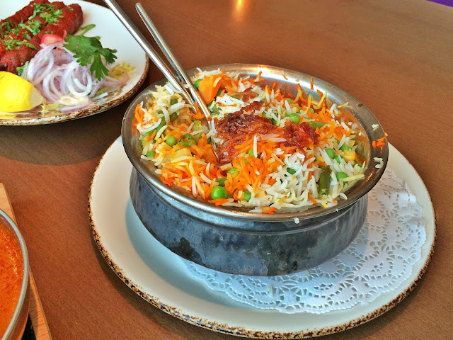 Subz Biryani at Asha's, The Avenues, Kuwait