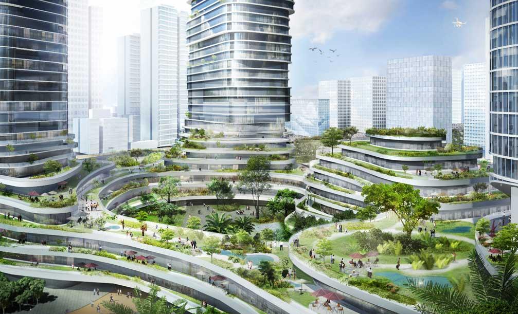 Büro Ole Scheeren mang đến vẻ đẹp của kiến trúc đương đại cho Empire City
