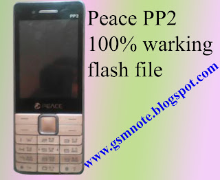 Peace PP2 Flash File (Peace PP2 Firmware)