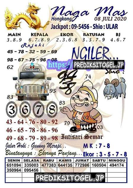 Syair Nagamas HK Rabu 08 Juli 2020