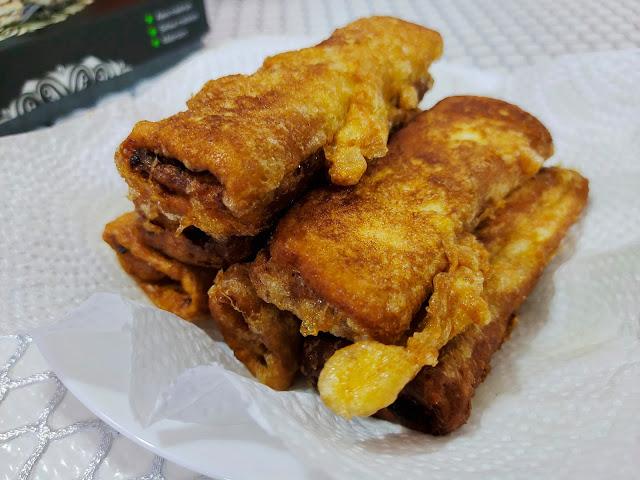 Sandwich Sardine Roll
