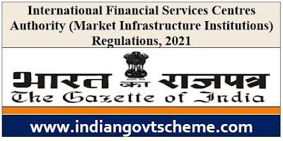 Market Infrastructure Institutions