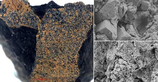 Ancient 4.6 billion-year-old meteorite is discovered in the imprint of a horseshoe