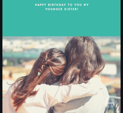Emotional Birthday Wishes for Elder and Younger sister
